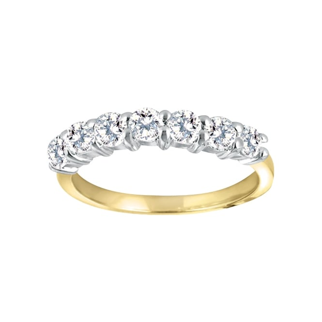 Eternity 9ct Gold 1/2 Carat Diamond Ring
