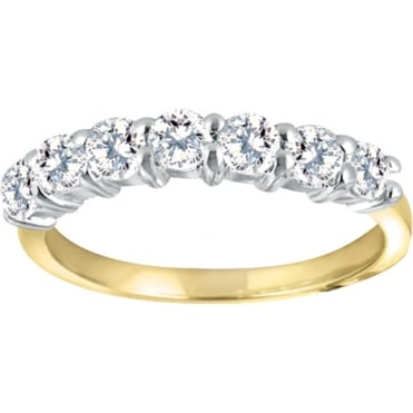 9ct Gold 1/2 Carat Diamond Eternity Ring
