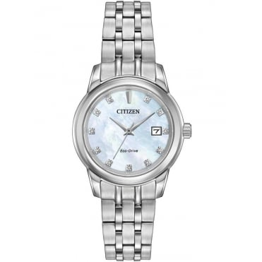 Citizen Ladies Diamond Mother of Pearl Eco-Drive Watch