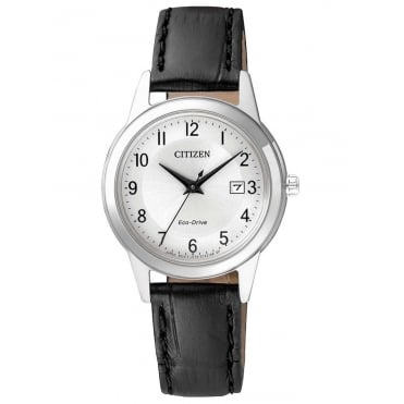Citizen Ladies Eco-Drive Leather Watch