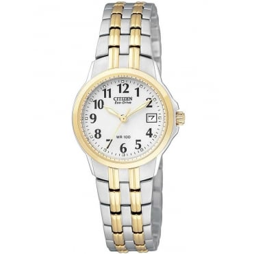 Citizen Ladies Two Tone Eco-Drive Watch