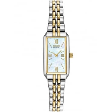 Citizen Ladies' Two Tone Stainless Steel Bracelet Watch