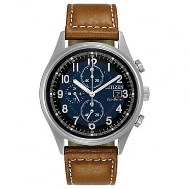 Citizen Men's Eco-Drive Chronograph Strap Watch