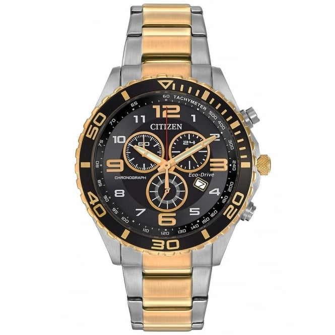 Citizen Mens Eco-Drive Tachymeter Watch