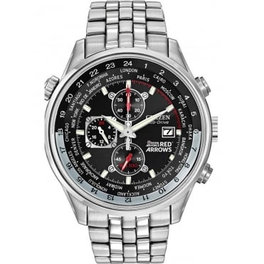 Citizen Mens Red Arrows Bracelet Watch
