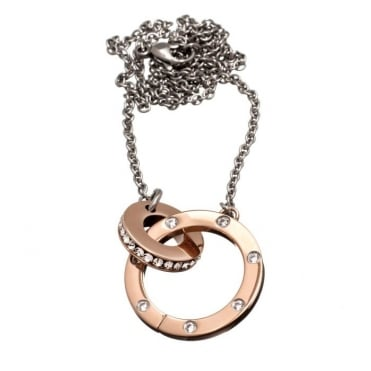 Ida Necklace Short Rose Gold
