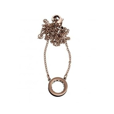 Monaco Rose Gold Plated Mini Necklace