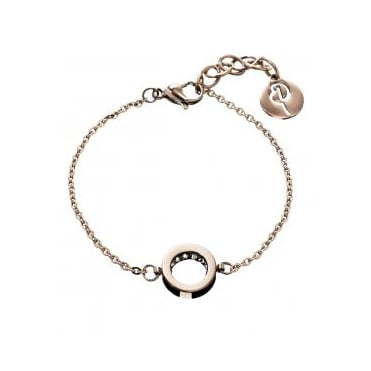 Monaco Rose Gold Plated Thin Bracelet