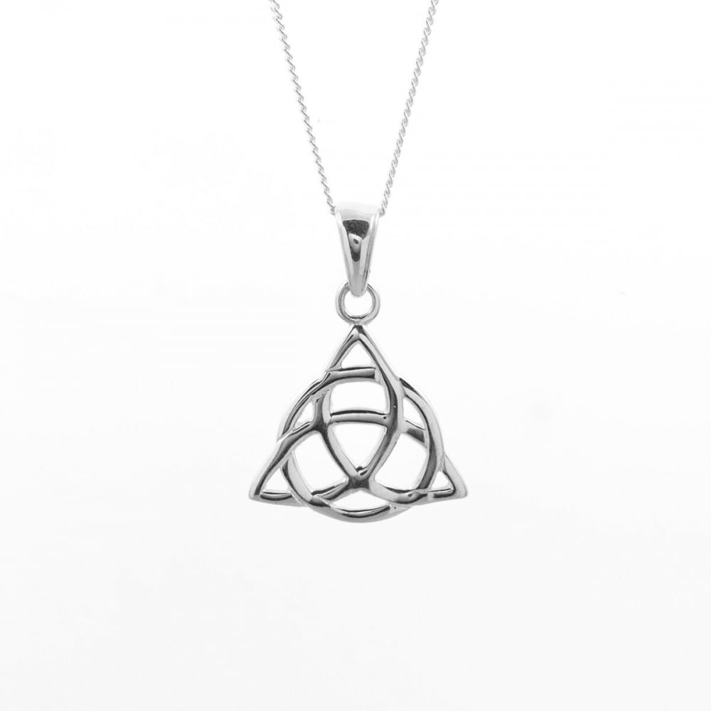 Eternity sterling silver celtic pendant and chain jewellery from sterling silver celtic pendant and chain mozeypictures Image collections