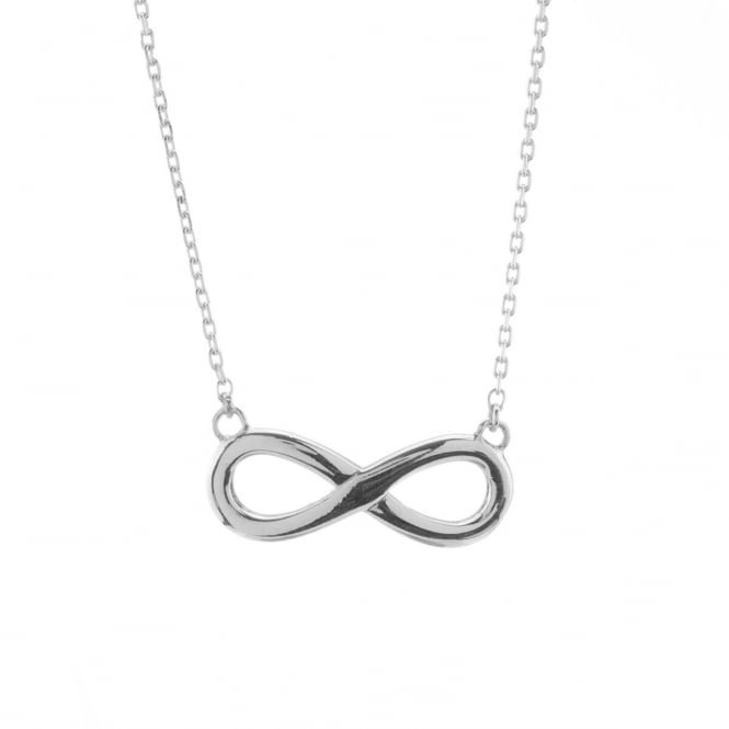 2ae45ba72e7ae Eternity Sterling Silver Infinity Pendant and Chain - Jewellery from ...