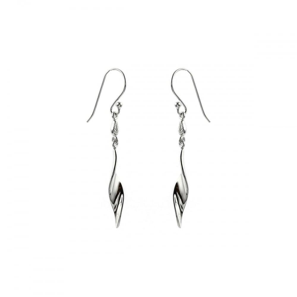 330396e9b Eternity Sterling Silver Twisted Drop Earrings - Jewellery from ...
