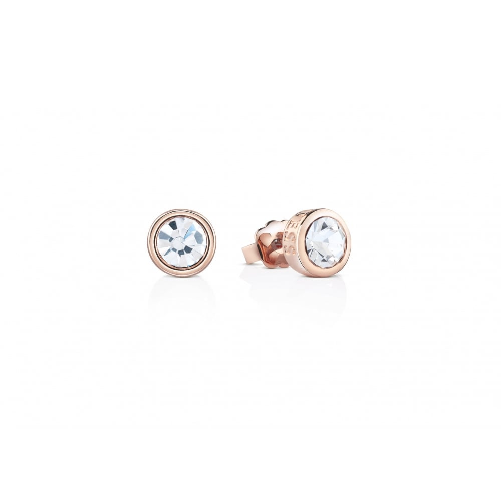 stainless bezel pair set opal steel women s synthetic of stud earrings white