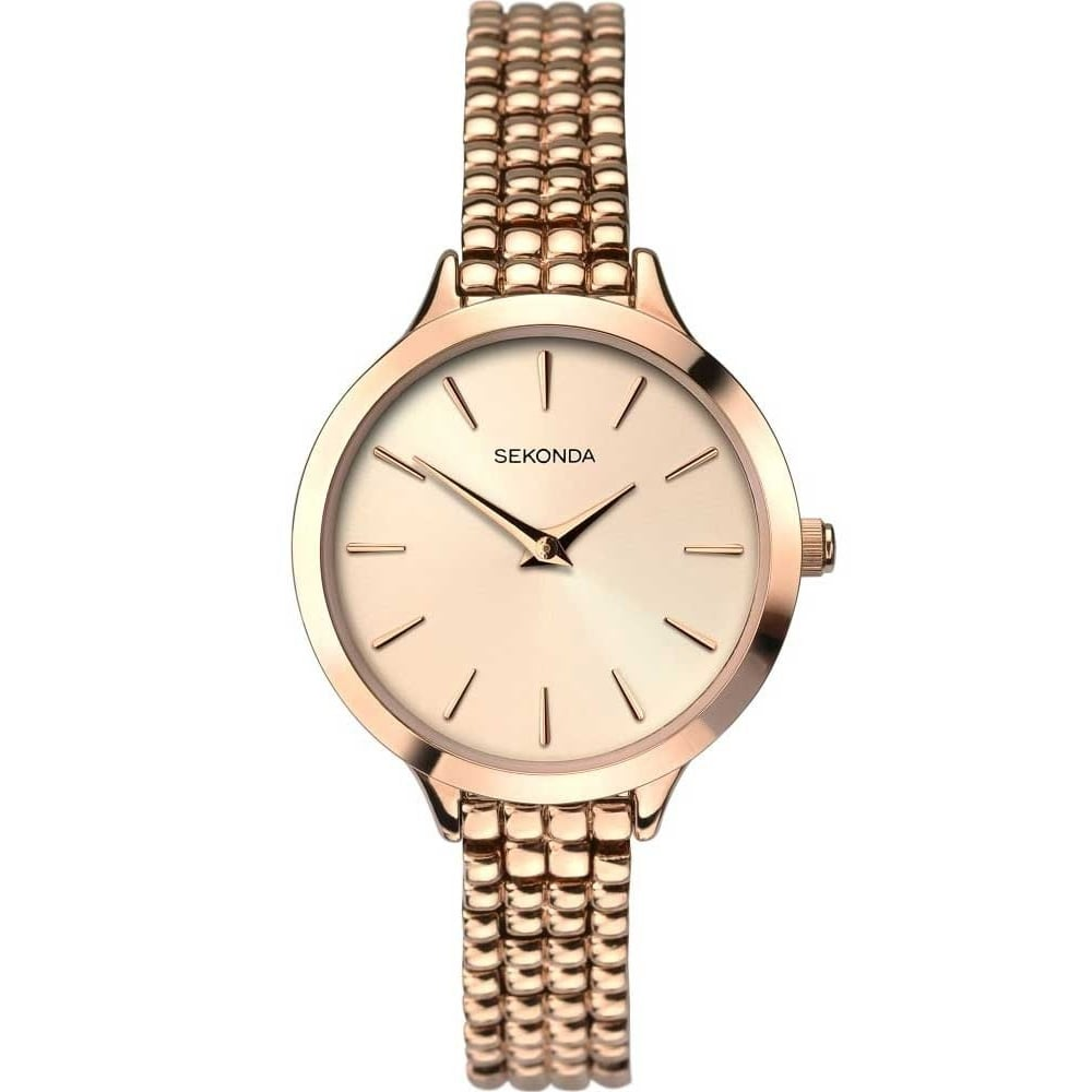 Sekonda Editions Ladies\' Rose Gold Bracelet Watch - Watches from ...