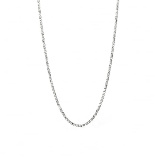 """Sterling Silver 18"""" Spiga Chain """