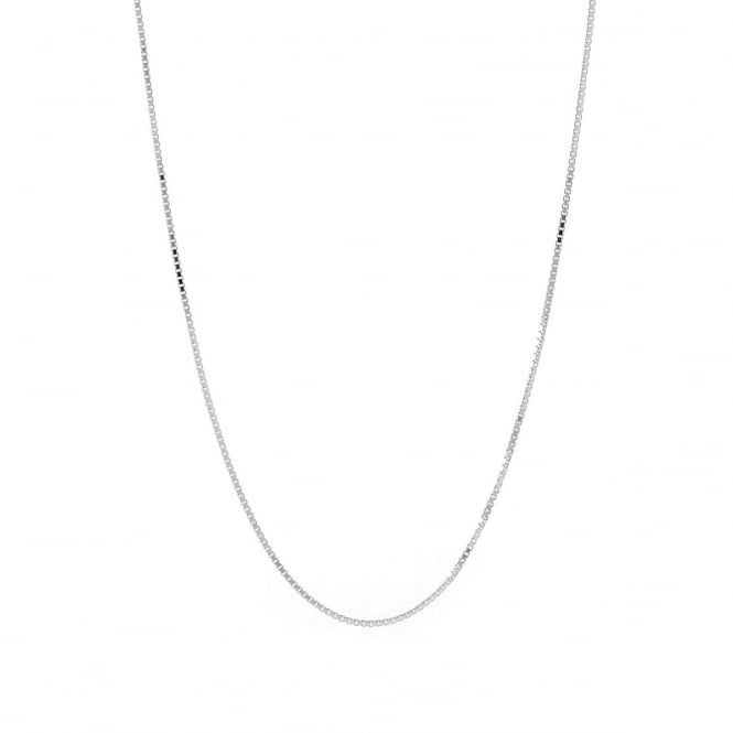 """Sterling Silver 24"""" Box Chain"""