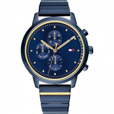 Ladies 'Blake' Round Blue Dial with a Blue Bracelet
