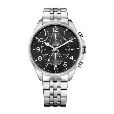 Tommy Hilfiger Mens Dean Stainless Steel Bracelet Watch