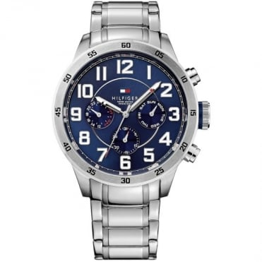 Tommy Hilfiger Trent Mens Stainless Steel Bracelet Watch
